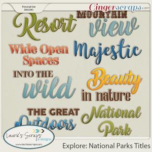 Explore: National Parks Titles