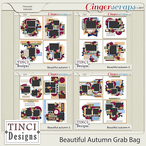 Beautiful Autumn Grab Bag