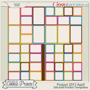 Project 2015 April - Stitched Pocket Templates