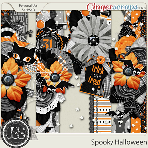 Spooky Halloween Page Borders