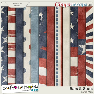 Bars and Stars Paper Pack