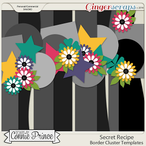 Secret Recipe - Border Cluster Templates (CU Ok)