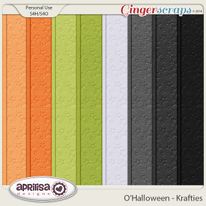 O'Halloween Krafties by Aprilisa Designs