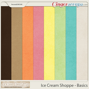 Ice Cream Shoppe Basic Papers