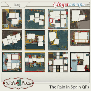 The Rain In Spain Quick Pages