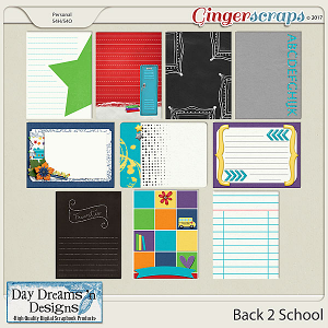 Back 2 School {Journal Cards} by Day Dreams 'n Designs