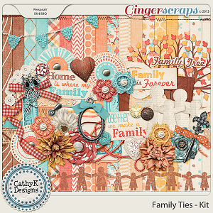 Family Ties Kit: by CathyK Designs