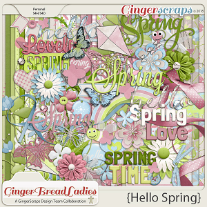 GingerBread Ladies Collab: Hello Spring {2018}