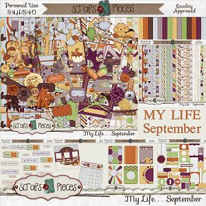 My Life - September Bundle by Scraps N Pieces