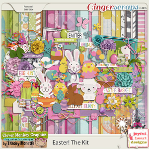 Easter! The Kit by Clever Monkey Graphics