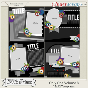Only One Volume 8 - 12x12 Temps (CU Ok)