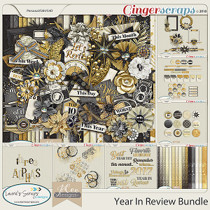 Year in Review Bundle by JoCee Designs and Laurie's' Scraps and Designs