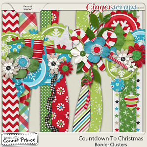 Countdown To Christmas - Border Clusters