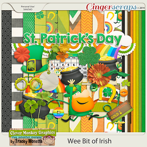 Wee Bit of Irish by Clever Monkey Graphics
