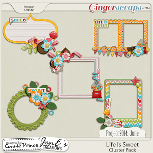 Retiring Soon - Project 2014 June:  Life Is Sweet - Cluster Pack