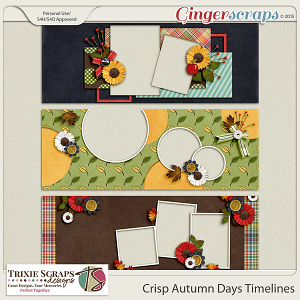 Crisp Autumn Days Timelines by Trixie Scraps Designs