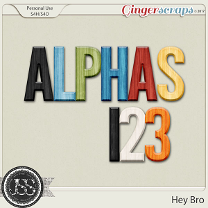 Hey Bro Alphabets