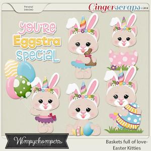 Baskets full of love Easter Kitties