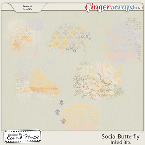 Social Butterfly - Inked Bits