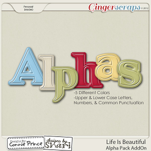Life Is Beautiful -  Alpha Pack AddOn: by Connie Prince