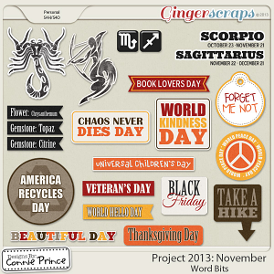 Project 2013:  November - WordBits