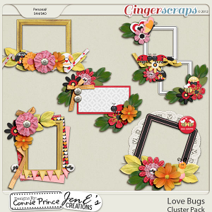 Love Bugs - Cluster Pack