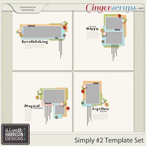Simply #2 Template Set Templates