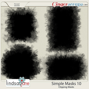 Simple Masks 10 by Lindsay Jane