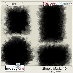 Simple Masks 10 by Lindsay Jane