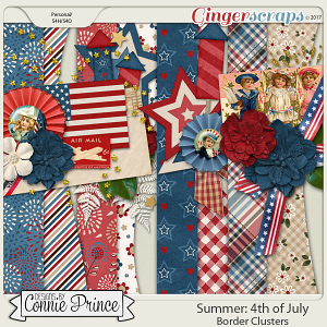 4th Of July - Border Clusters