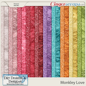 Monkey Love {Glitters} by Day Dreams 'n Designs
