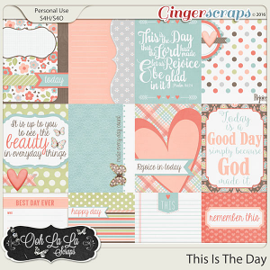 This Is The Day Journal and Pocket Scrapbooking Cards