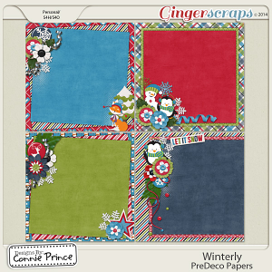 Winterly - PreDeco Papers
