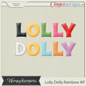 Lolly Dolly Rainbow Alpha