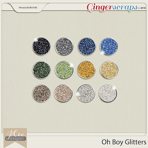 Oh Boy Glitters by JoCee Designs