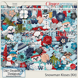 Snowman Kisses {Kit} by Day Dreams 'n Designs