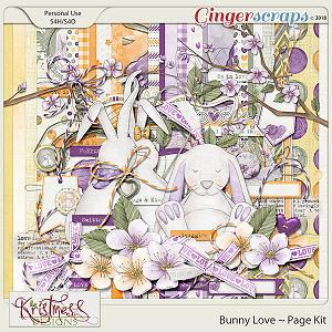 Bunny Love Page Kit