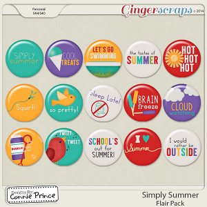 Simply Summer - Flair Pack