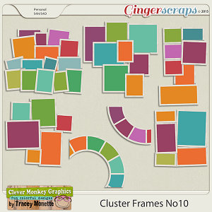 Cluster Frames No10 by Clever Monkey Graphics