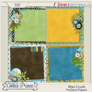 Man Crush - PreDeco Papers