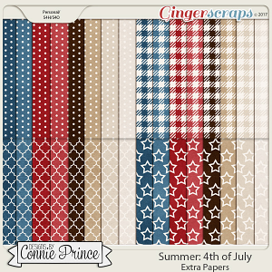 4th Of July - Extra Papers