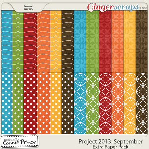 Project 2013:  September - Extra Papers