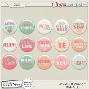 Retiring Soon - Words Of Wisdom - Flair Pack
