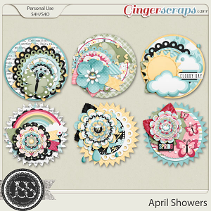 April Showers Cluster Seals