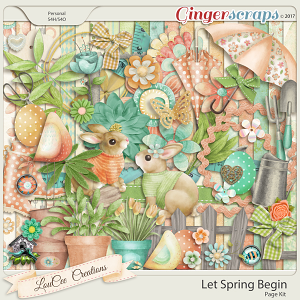 Let Spring Begin Page Kit