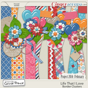 Project 2014 February:  Life That I Love - Border Clusters