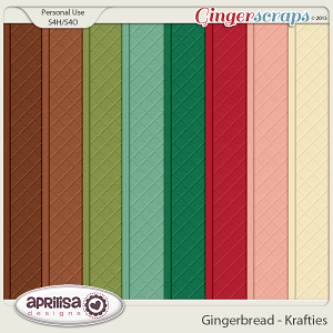 Gingerbread - Krafties by Aprilisa Designs