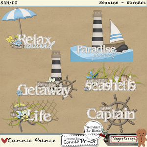 Retiring Soon - Seaside - WordArt Pack
