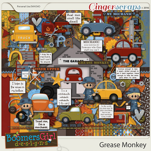 Grease Monkey by BoomersGirl Designs