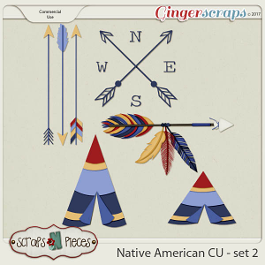 Native American CU set 2 - Scraps N Pieces